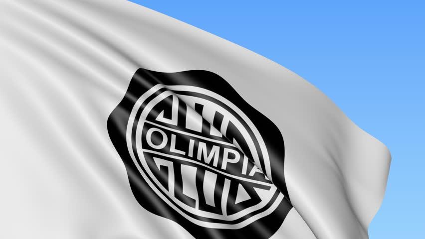 Bandera de Olimpia