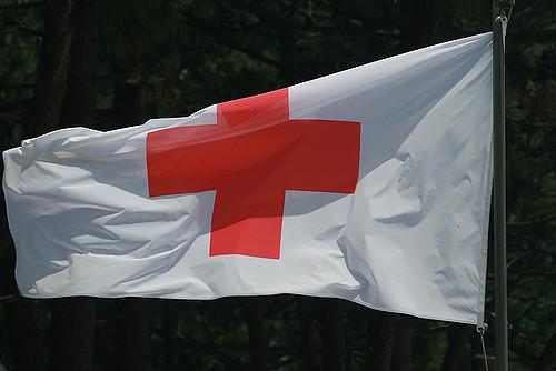 Bandera de la Cruza Roja