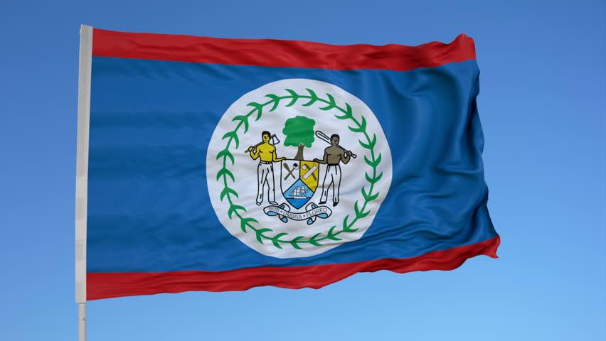 la bandera de Belice