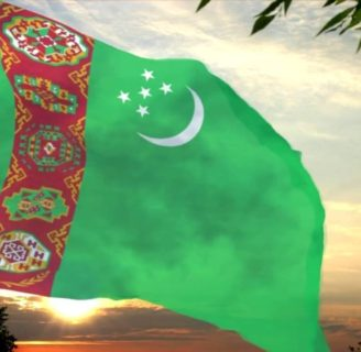 Descubra todo sobre la Bandera de Turkmenistan