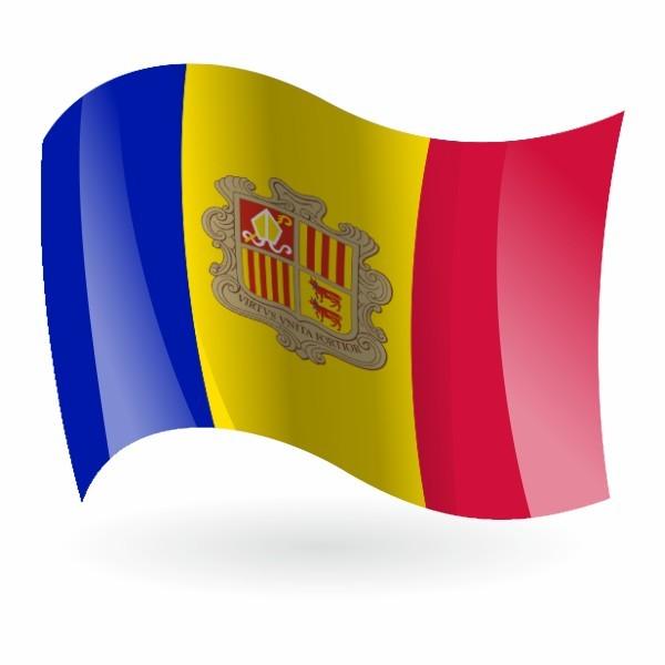 bandera de Andorra 1