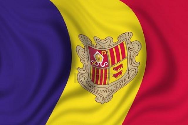 La bandera de Andorra 3