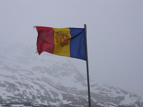 bandera de Andorra 4