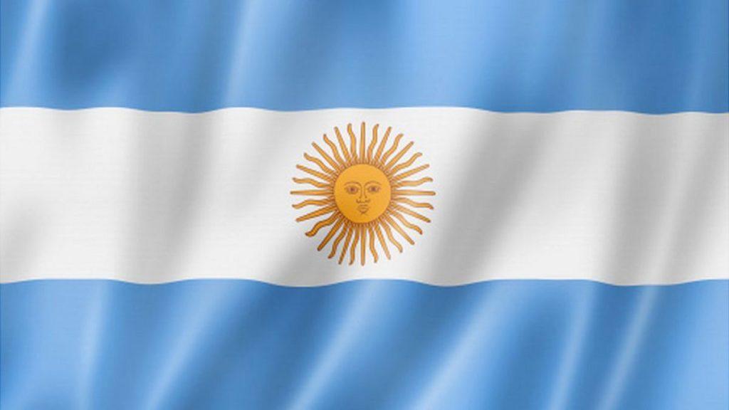 Bandera de Argentina 1