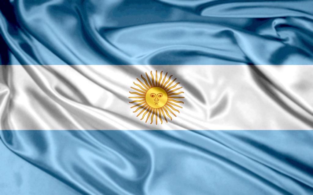 Bandera de Argentina 2