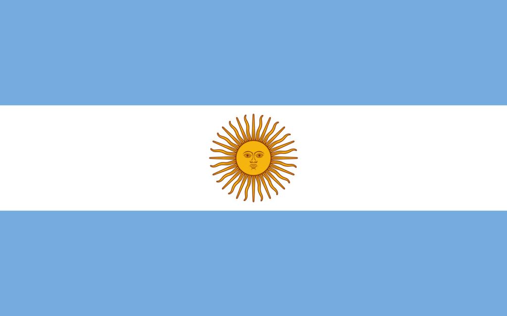 Bandera de Argentina 7