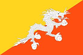 Bandera de Bután 1