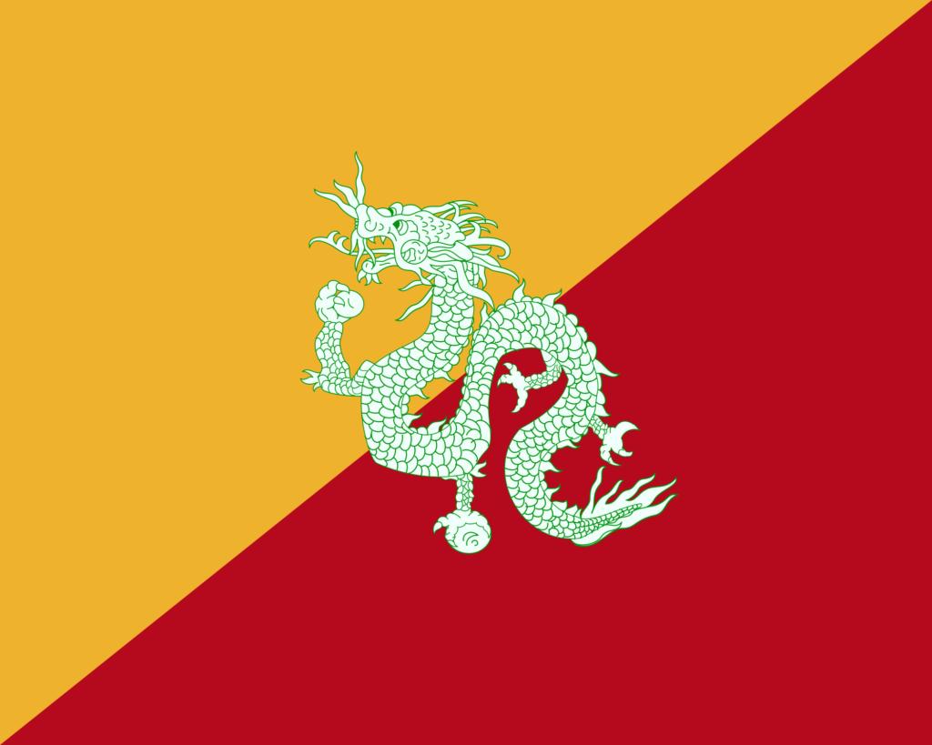 La Bandera de Bután 2
