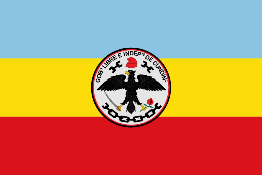 Bandera de cundinamarca 1