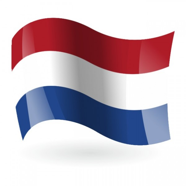 Bandera de Holanda 1