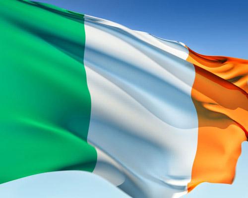 Bandera de Irlanda 1
