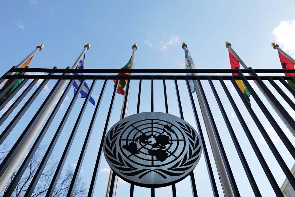 Bandera de la ONU 3