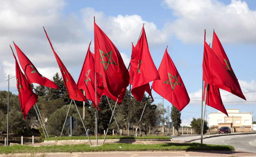 Bandera de Marruecos 1