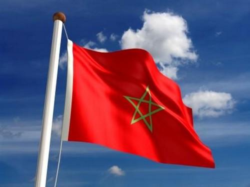 Bandera de Marruecos 2