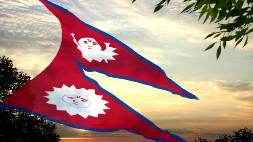 bandera de Nepal 3