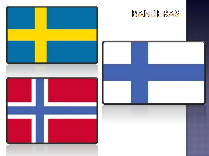 Bandera de Suecia 1