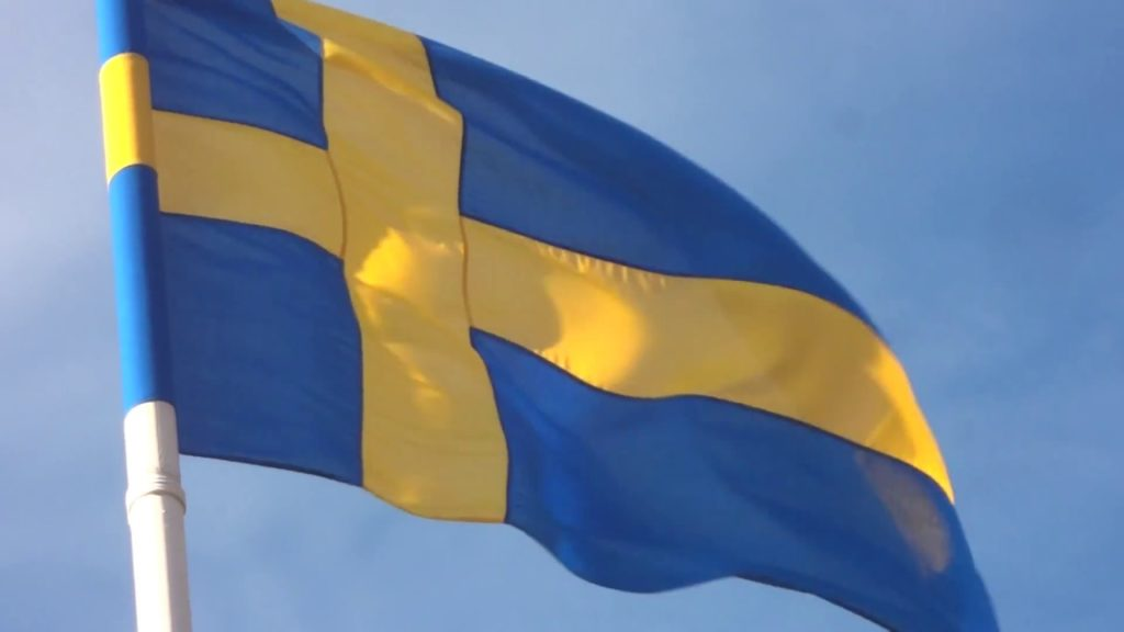 Bandera de Suecia 4