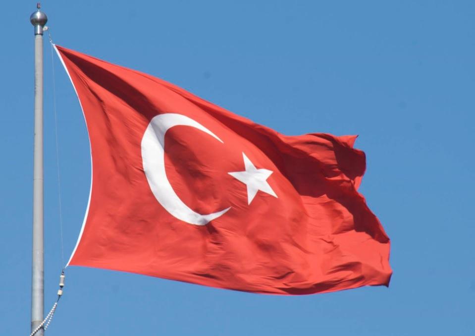 Bandera de Turquía 1
