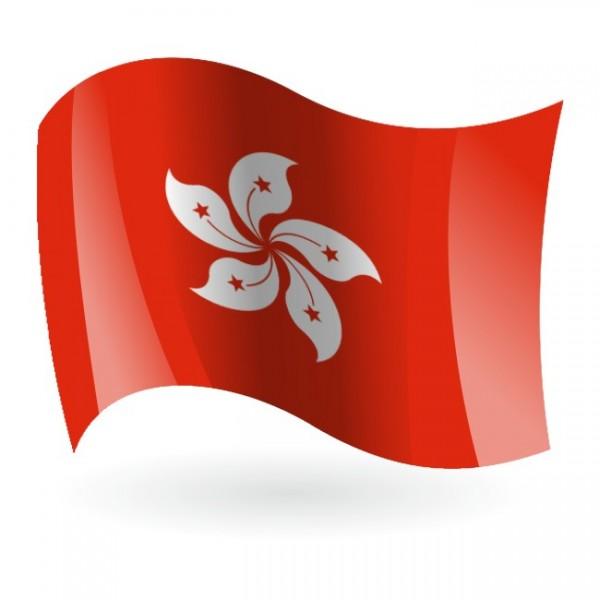 Bandera de Hong Kong 2