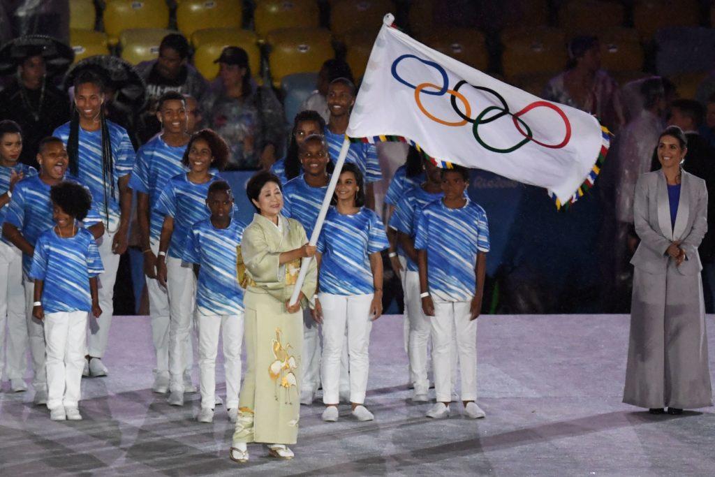 bandera olimpica