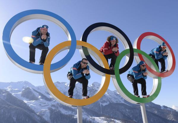 bandera olímpica