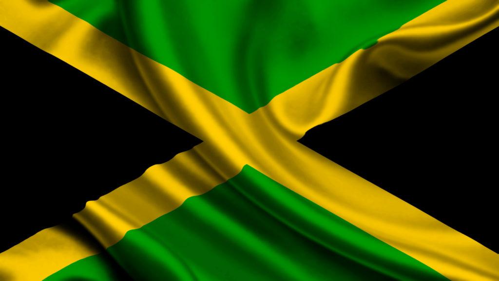 La bandera de Jamaica 1