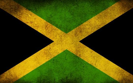 La bandera de Jamaica 2